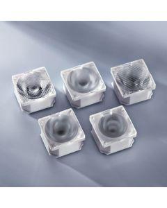 Ledil lens 21.6x21.6mm for Nichia UV NCSU033B 25 deg