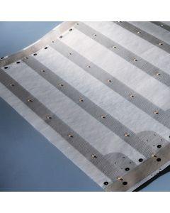 """Paper-Flex Osram LED Strip 81.52ft length 3479 LEDs warm white 2700K 24V 13.77"""" wide 333lm/ft & 43 LEDs/ft (price for ONE ROW 13.77""""x1.96"""" & 7 LEDs)"""