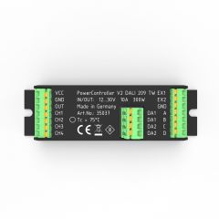 PowerController V2 Light Control Unit Tunable White via DALI 209 2-outputs, 10-30VDC up to 300W