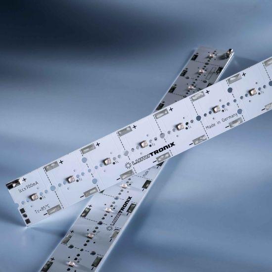PowerBar V3 LED Module Aluminium UV 405nm 700mA 17040mW 12x Nichia 119 LEDs 11.41in/29cm