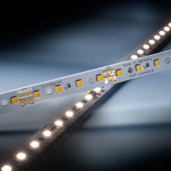 Multibar 44 Nichia LED Strip neutral white CRI90 4000K 763lm 24V 44 LEDs 19.68in/50cm bar (466lm & 4W/ft)