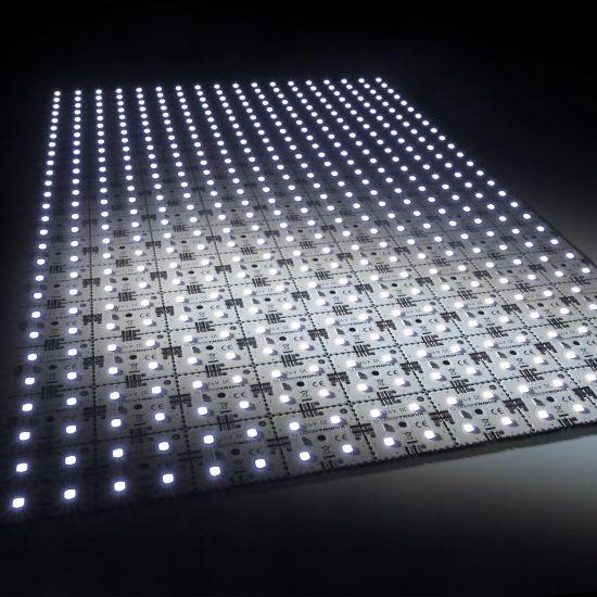 Nichia LED Backlight Module Matrix Mini 126 segments (9x14) 504 LEDs 24V White 6500K 60.5W 9840lm