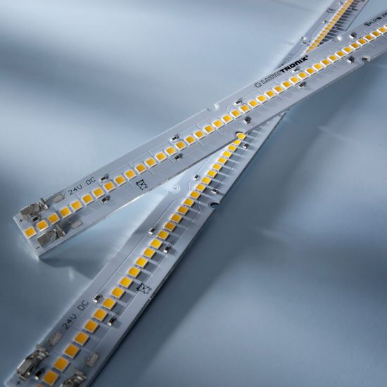 Maxline 70 Nichia LED Strip warm white 3000K 2080lm 24V 70 LEDs 11.02in/28cm module (2265lm & 18.3W/ft)