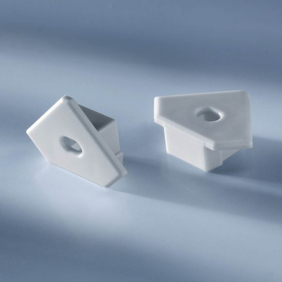 Open end cap for  Aluflex Aluminum Profile for LED strips corner 1020mm