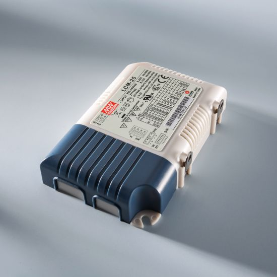 Constant Current LED Driver Mean Well LCM-25 IP20 350 > 1050 mA 230V to 6 > 54VDC DIM