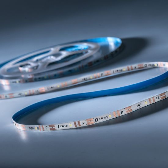 FlexOne 100 Samsung LED Strip warm white 2700K 6090lm 12V 20 LEDs/m 16ft/5m reel (372lm & 5.2W/ft)