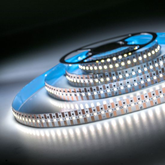 FlexOne 500 Samsung LED Strip cold white 6500K 19000lm 12V 100 LEDs/m 16ft/5m reel (1159lm & 12.9W/ft)