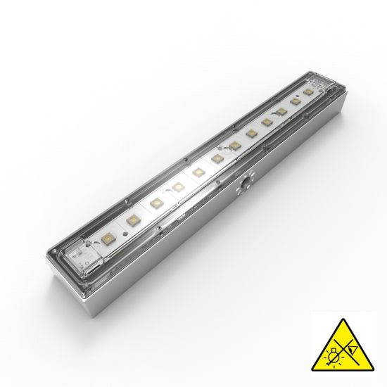 Violet UVC Seoul Viosys LED Module 275nm 12 LEDs 152mW 29cm 48VDC with controler incl., for disinfection