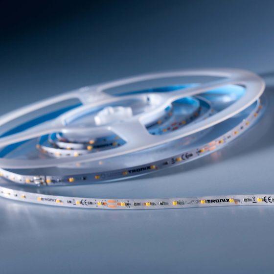 SlimFlex280 Nichia LED Strip TW 2700-6500K 4280lm 24V 140 LEDs/m 7ft/2m reel (327lm & 2.8W/ft)