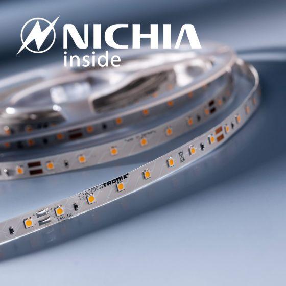 LumiFlex 35 Nichia LED Strip warm white 2700K 1220lm 24V 70 LEDs/m price for 19.68in/50cm (372lm & 3W/ft)