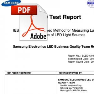 Samsung lifetime test: 10,000 hours