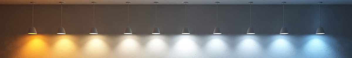 What LED Color Temperature to choose for a project, from 2700K to 6500K