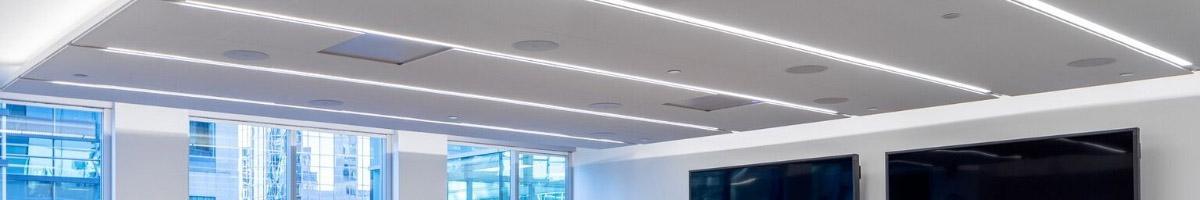 Recommended light levels for office lighting