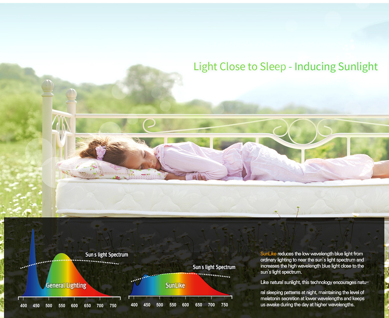 Seoul SunLike LEDs ease eye strain and improve sleep patterns, two research studies suggest