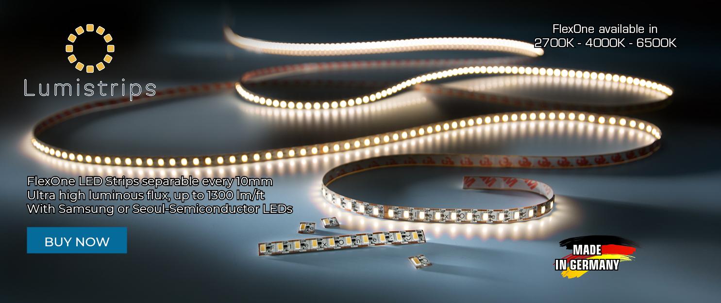 FlexOne LED strip light separable every 10mm