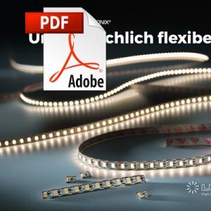 Flexible Nichia LED strips Catalog