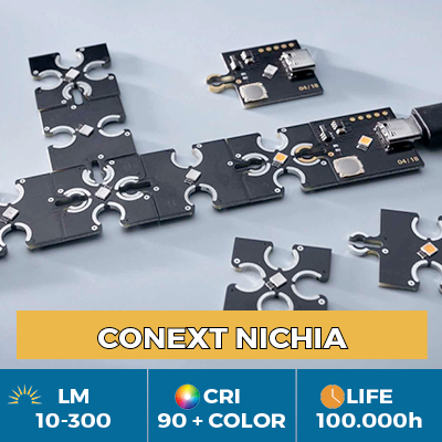 Professional Conext LED Modules, Click & Play for freedom of shape and color